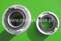Couplings, fittings for fire brigades competitions Ø 110 mm